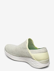 Skechers - Womens YOU - Rise - slip-on sneakers - yel yellow - 2