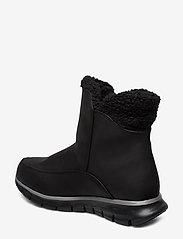 Skechers - Womens Synergy - Waterproof - flade ankelstøvler - bbk black - 2