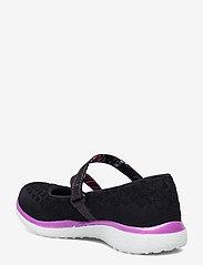 Skechers - Girls Microburst - One-up - ballerinaer og slip-ons - bkpr black purple - 2