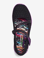Skechers - Girls Microburst - One-up - ballerinaer og slip-ons - bkpr black purple - 3