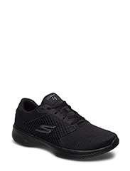 Womens GOwalk 4 - Exceed - BBK BLACK