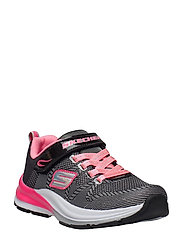 Girls Double Strides - BKNP BLACK NEON PINK