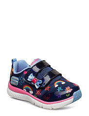 Girls Jump Lites - NVMT NAVY MULTICOLOR