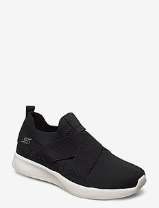 Womens BOBS Sport Squad 2 - Kid Cool - slip on sneakers - blk black
