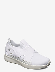 Womens BOBS Sport Squad 2 - Kid Cool - slip-on sneakers - wht white