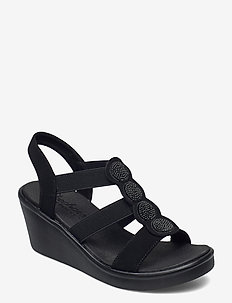 Womens Rumble On - Camp Glam - korolliset sandaalit - bbk black