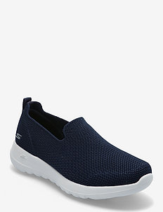 Womens Go Walk Joy - slip-on sneakers - nvw navy white