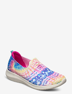 Womens Ultra Flex - slip-on sneakers - mult multicolor