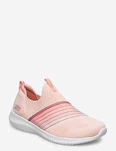 Womens Ultra Flex - Brightful Day - slip-on sneakers - ltpk light pink