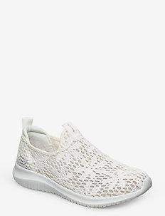 Womens Ultra Flex - slip-on sneakers - wht white