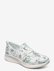 Womens YOU Wave - Peaceful - slip-on sneakers - wmlt white multicolor