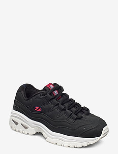 Womens Energy - Wave Dancer - chunky sneaker - bkw black white
