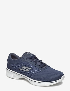 Womens GOwalk 4 - Exceed - NVW NAVY WHITE