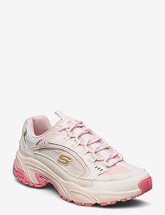 Womens Stamina - Lower Creek - chunky sneaker - ofpk off white pink