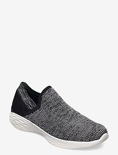 Womens YOU - Rise - slip-on sneakers - bkw black white