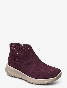 Womens ON the GO Joy - Star Glam - slip-on sneakers - burg burgundy