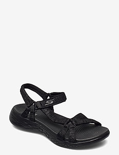 Womens On-The-Go 600 - matalat sandaalit - bbk black