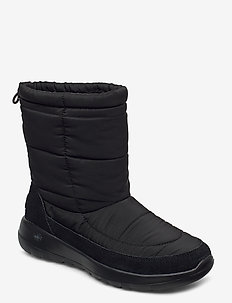 Womens On-The-Go Joy Stay Cozy - flade ankelstøvler - bbk black