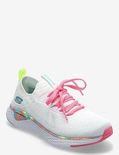 Girls Solar Fuse - låga sneakers - wmlt white multicolor