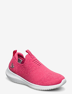 Girls Ultra Flex - slip-on sneakers - ncor neon coral