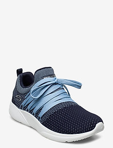Womens BOBS Sparrow - Sneaker Club - matalavartiset tennarit - nvbl navy blue