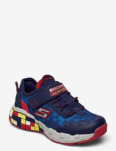 Boys Mega-Craft - lave sneakers - nvrd navy red