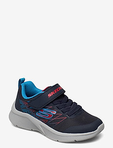 Boys Microspec - lave sneakers - nvrd navy red