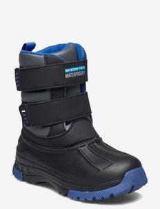 Boys Snow Slopes - Hydro-Blitz - Waterproof - bottes d'hiver - bkcc black charcoal