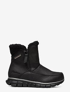 Womens Synergy - Waterproof - flade ankelstøvler - bbk black