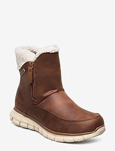 Womens Synergy - Waterproof - platta ankelboots - csnt chestnut