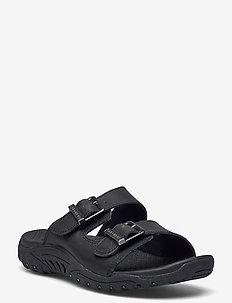 Womens Reggae - Jammin' - platta sandaler - bbk black