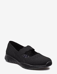 Womens Seager - Power Hitter - slip-on sneakers - bbk black