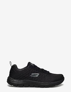Mens Flex Advantage 2.0 - The Happs - lave sneakers - bbk black