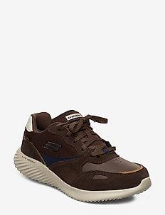Mens Bounder - Jigster - Waterproof - lav ankel - brmt brown multicolor