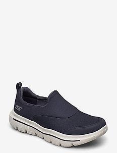Mens GOwalk Evolution Ultra - Rapids - slipper - nvgy navy grey