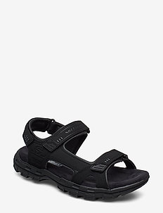 Mens Relaxed Fit Conner - Garver Louden - sandalen - blk black