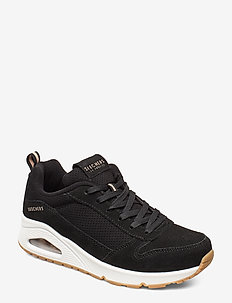 Womens UNO Two for the show - chunky sneakers - blk black