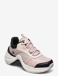 Womens Solei ST. - Groovilicious - chunky sneakers - pkbk pink black