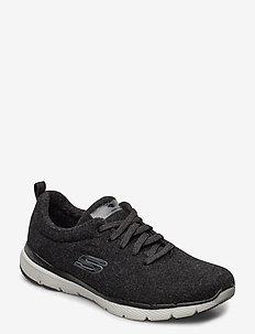 Womens Wash-A-Wool Flex Appeal 3.0 - Plush Joy - niedrige sneakers - blk black