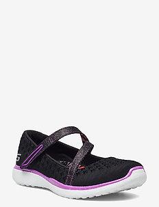Girls Microburst - One-up - ballerinaer og slip-ons - bkpr black purple