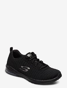 Womens Skech-Air Infinity - Overtime - sneakers med lav ankel - bbk black