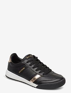 Womens Zinger Flicker - lave sneakers - bkgd black gold