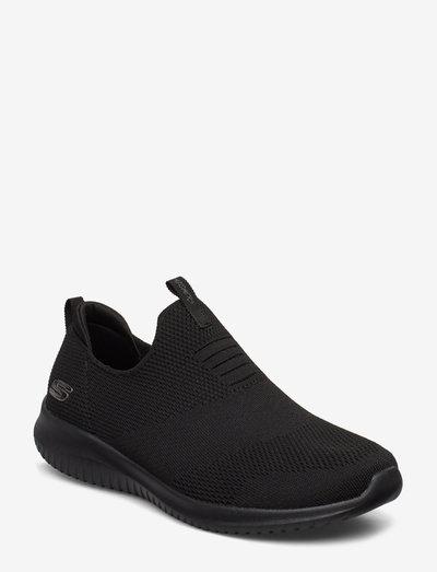Womens Ultra Flex - First Take - lave sneakers - bbk black