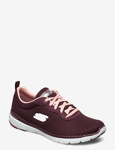 Womens Flex Appeal 3.0 - First Insight - lave sneakers - bupk burgundy pink