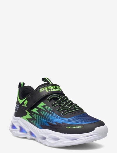 Boys Vortex-Flash - lave sneakers - black lime