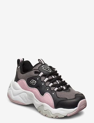 Girls D'Lites 3.0 - Zenway - lave sneakers - black light pink