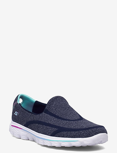 Girls GOwalk 2-Super Sock - lave sneakers - nvy navy