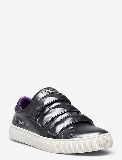 Girls Sidestreet - lave sneakers - pew pewter