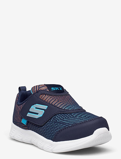 Boys Comfy Flex - lave sneakers - nvor navy orange