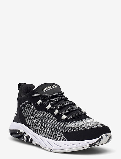 Boys Durafusion - lave sneakers - bkgy black grey